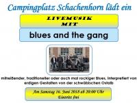 Livemusik mit blues and the gang